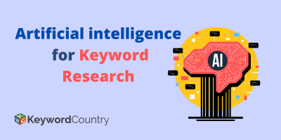 Artificial intelligence for Keyword Research